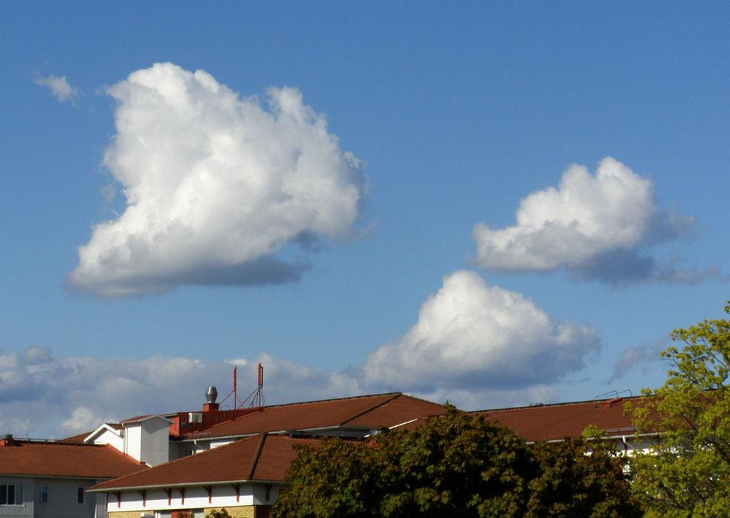 Ein Narr, wer hier Cumuluswolken vermutet! Quelle: