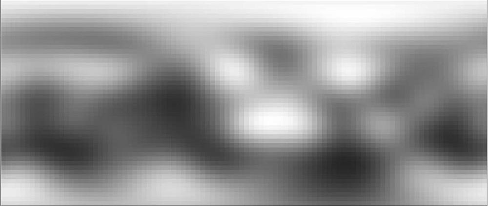 """Landkarte von Pluto vor New Horizons: """"Wie lange noch zum nächsten Pixel, Mama?"""" – """"Drei Stunden, Schatz."""" Quelle: NASA (gemeinfrei)"""