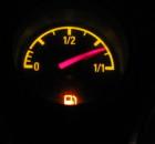 Gut so: Je weniger Benzin, desto weiter komme ich mit der Kiste! Quelle: Sash